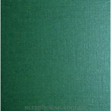 Картон дизайнерский темно-зеленый лён