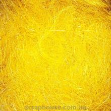 Сизаль желто-горячая