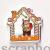 Оранжевый домик